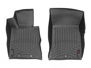 WeatherTech DigitalFit BLACK Front FloorLiner Set Genesis Coupe 2010 - 2012
