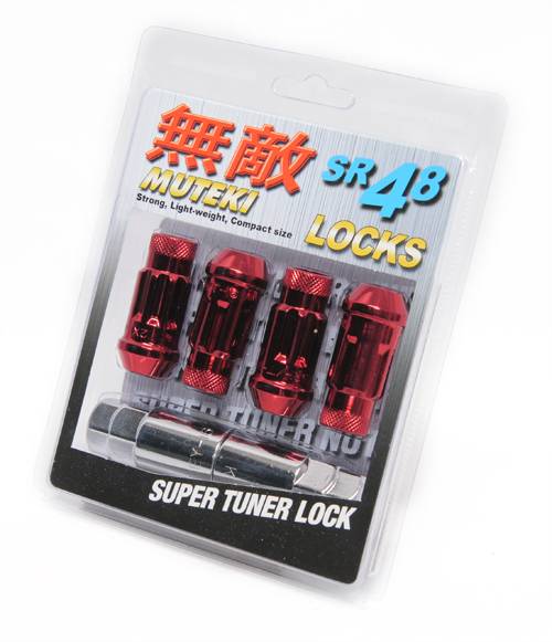 Genesis Coupe Muteki SR48 Extended Lug Nuts with LOCK (OPEN END)