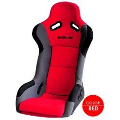 Buddy Club Racing Spec Bucket Seat (Regular) - Red