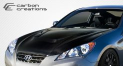 2010-2012 Hyundai Genesis Coupe 2DR Carbon Creations Vader Hood - 1 Piece