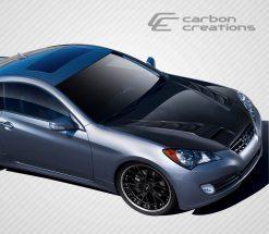 2010-2012 Hyundai Genesis 2DR Carbon Creations RS-1 Hood - 1 Piece