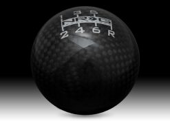 SK-300BC-1-W Ball Black Carbon Fiber Heavy Weight 6 Speed Pattern - Universal 1.1LBS/480g