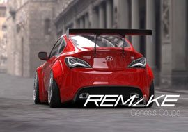 remakegenesiscoupewidebodykitrear