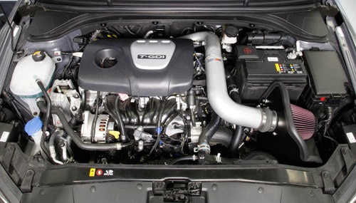 K&N Typhoon Air Intake System for 2017 Hyundai Elantra GT Sport 1 6T/ 2019+  HYUNDAI VELOSTER TURBO